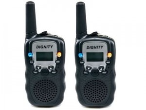 Walkie Talkie Vordon / Dignity T-388 set of 2 at Wasserman.eu