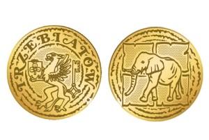 """The Trzebiatów coin """"Gryf i Słoń"""" at Wasserman.eu"""