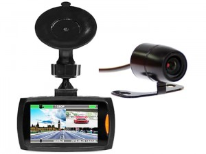 Car camera U-Drive DUAL recorder MT4056 at Wasserman.eu