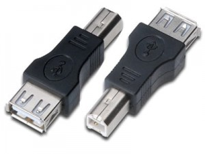 USB A / Ż-B / M adapter at Wasserman.eu