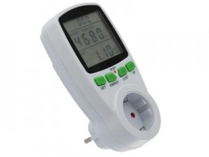 Electricity meter. Energy consumption meter, multometer at Wasserman.eu