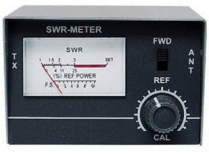 Brand name reflectometer, SWR-1 CRT meter at Wasserman.eu