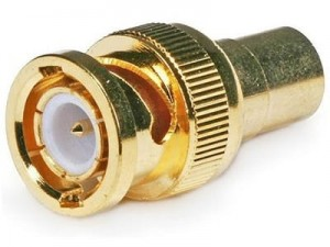 BNC GOLD plug on H155 / RF240 / RG6 at Wasserman.eu