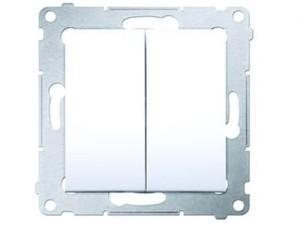 Łącznik podwójny Simon54 Premium DW5 biały DW5.01/11 w sklepie Wasserman.eu