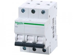 Overcurrent breaker 3-FAZ fuse Schneider C 16A at Wasserman.eu