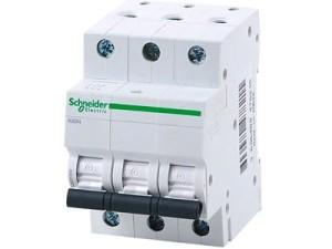 3-FAZ miniature circuit breaker, Schneider C 25A fuse at Wasserman.eu