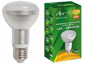 Led bulb E27 7W (70W) Art 4001270 warm at Wasserman.eu