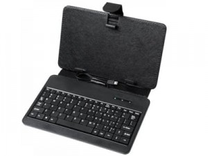 "7 ""tablet case with miniUSB keyboard at Wasserman.eu"
