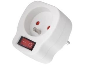 Power socket with switch MCE13 at Wasserman.eu