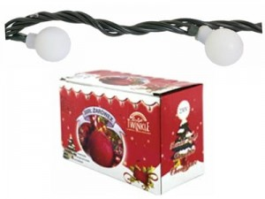 Christmas lights balls 100xLED 10m WHITE + controller at Wasserman.eu