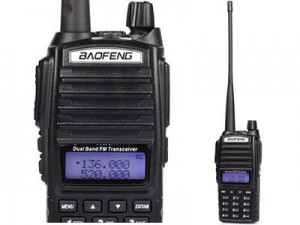 BAOFENG UV-82 VHF / UHF radio unlocked at Wasserman.eu