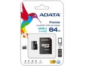 Karta microSDXC 64GB Class10 UHS-I + adapter SD w sklepie Wasserman.eu