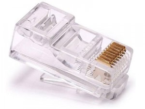 RJ45 connector package 100 pieces at Wasserman.eu