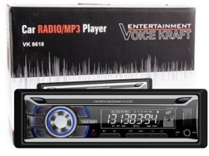 Car radio Voice Kraft VK-8618BT blue with bluetooth USB / SD / Aux at Wasserman.eu