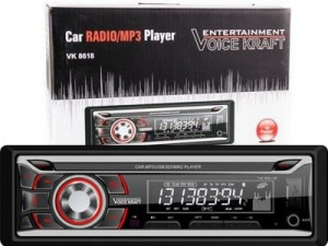 Voice Kraft VK-8618 red RDS / USB / SD / Aux car radio at Wasserman.eu