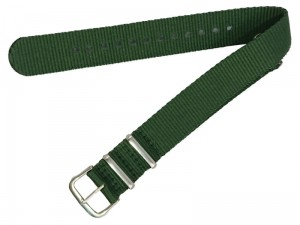 Material strap 18mm dark green at Wasserman.eu