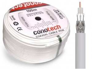 CONOTECH NS100 Trishield 100m antenna cable at Wasserman.eu