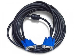 10m VGA cable with filter at Wasserman.eu