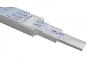 PVC electrical duct 20x18mm, 2m at Wasserman.eu