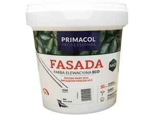 Acrylic paint Primacol Fasada Eco white 1L at Wasserman.eu