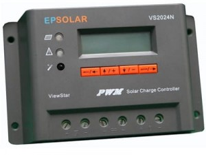 20A VS2024 EpSolar charging controller with LCD at Wasserman.eu