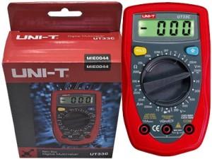 Digital multimeter UNI-T UT33C at Wasserman.eu