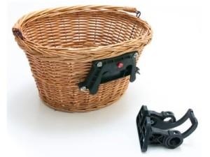 Kosz wiklinowy na rower. Mocowanie klick w sklepie Wasserman.eu