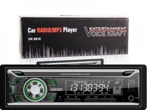 Radioplayer Voice Kraft USB / SD / Aux green backlight at Wasserman.eu