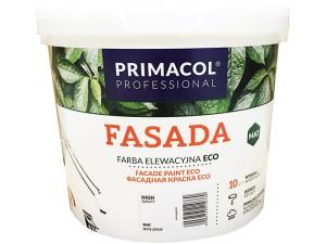 Acrylic paint Primacol Fasada Eco white 5L at Wasserman.eu