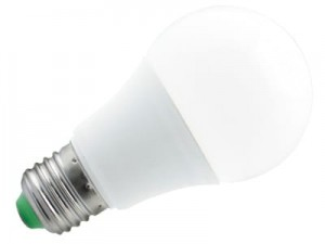LED BULB E27 7W warm light bulb 630lm 165653 at Wasserman.eu