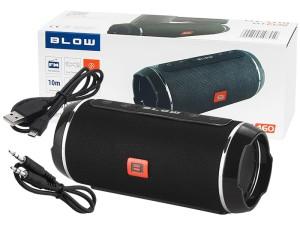 Bluetooth Blow Speaker black 2x10W USB microSD FM at Wasserman.eu