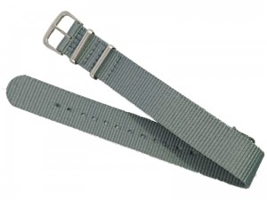Fabric strap 18mm dark gray at Wasserman.eu