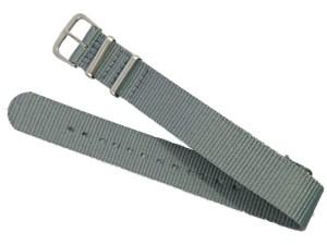 Watch strap 18mm dark gray at Wasserman.eu