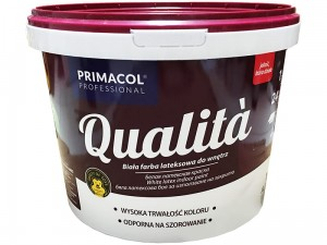 Interior latex paint Qualita 10L white at Wasserman.eu