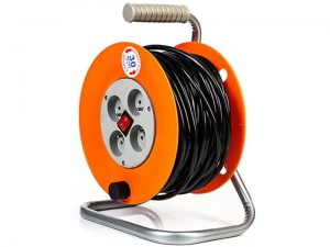 Drum extension cord 30m 3x1.5mm PM-PB-30-3-1.5 at Wasserman.eu