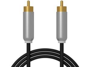 Kabel RCA cinch Metal 3m ekranowany 1x1 Blow 91-262# w sklepie Wasserman.eu