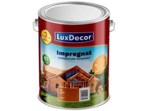 Decorative and protective impregnation LuxDecor 10L chestnut at Wasserman.eu