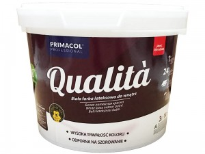 Latex interior paint Qualita 3L white at Wasserman.eu