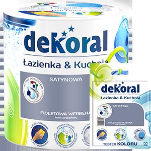 Produkty marki dekoral