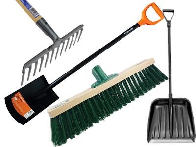 Shovels rake brushes w sklepie Wasserman.eu