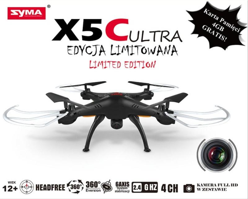Test sprzętu – dron Syma X5C ULTRA