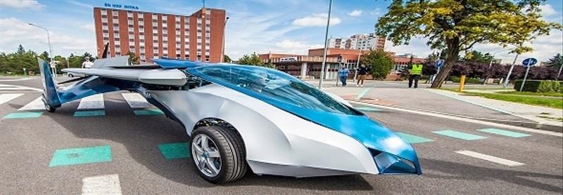 AeroMobil 3.0 - samolot i samochód w jednym